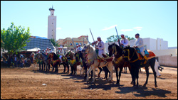 Traditional Horseriders in Morocco