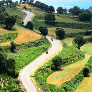 Motorradtour Pyrenäen