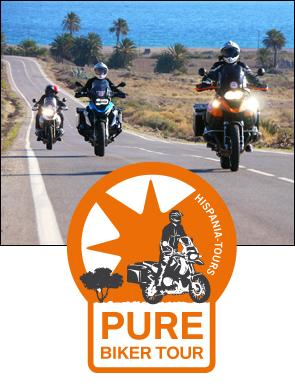 Motorradtour Andalusien